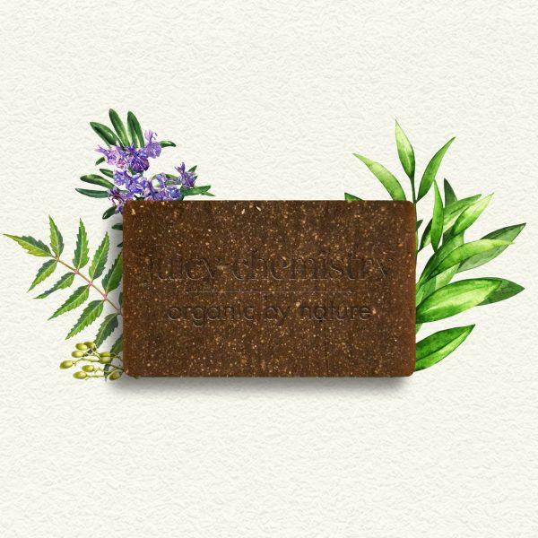 Savon, Shampooing Solide et Pain de Rasage - Tea Tree, Neem & Romarin