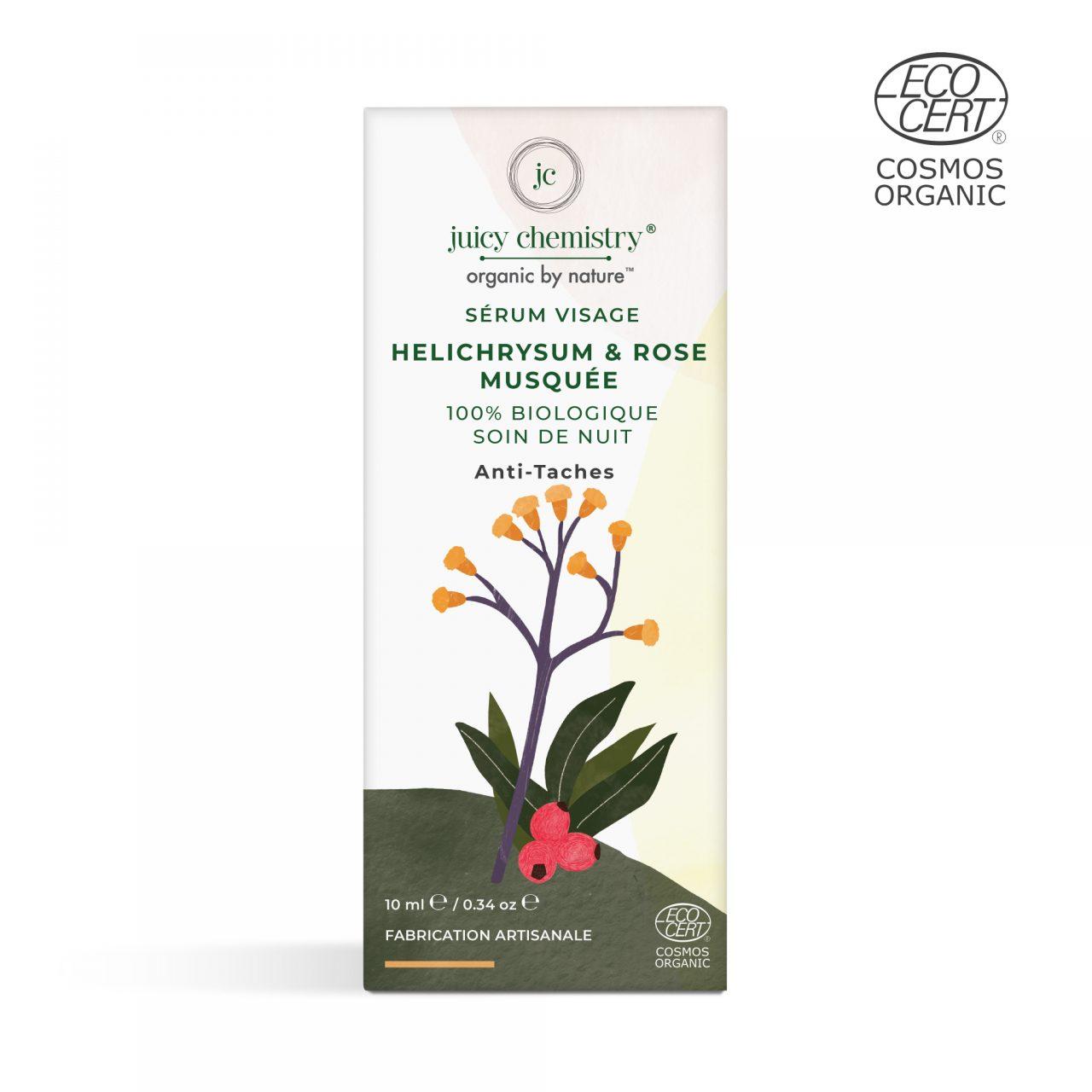 Sérum Visage Helichrysum & Rose musquée Recto