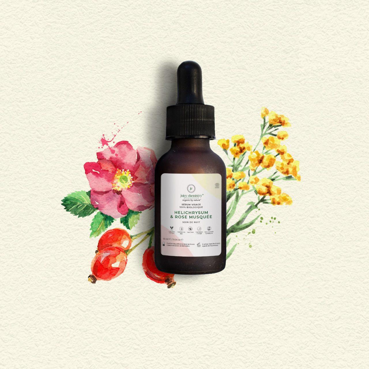 Soin Visage - Sérum Visage Helichrysum & Rose musquée
